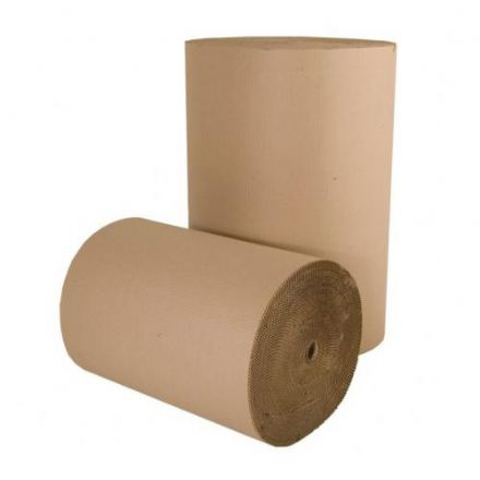 Corrugated Paper Roll<br>Size: 600mm x 75m<br>Pack of 1